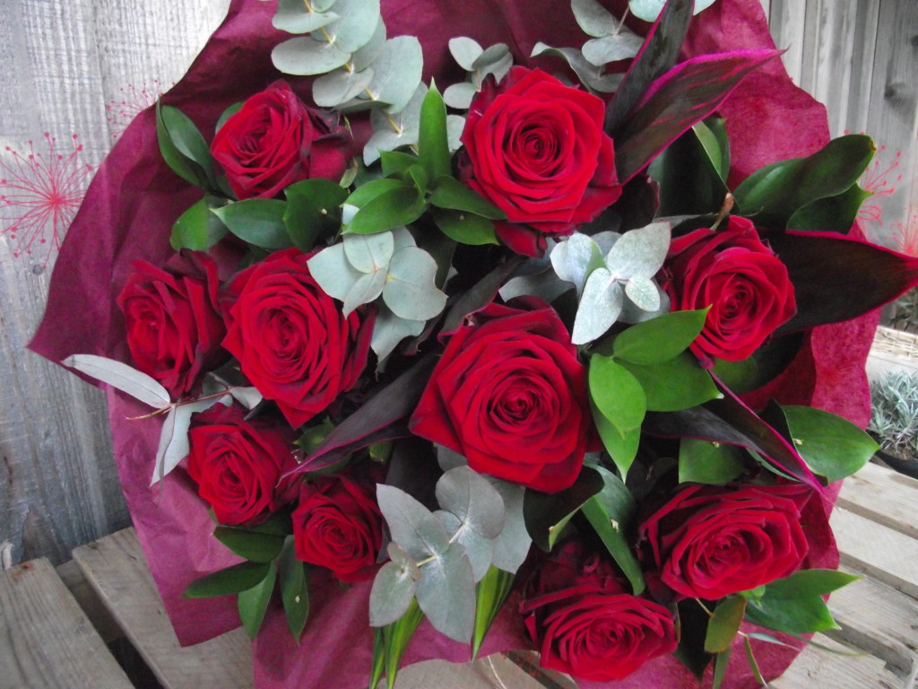 Wiltshire florist Young Blooms Valentines