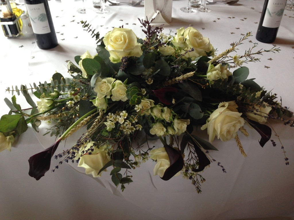 Wedding flowers Wiltshire Young Blooms