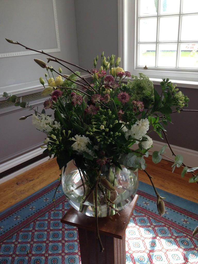 Wiltshire wedding florist