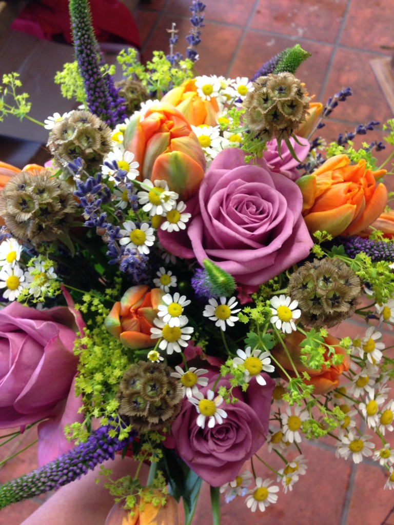 wiltshire wedding florist young Blooms