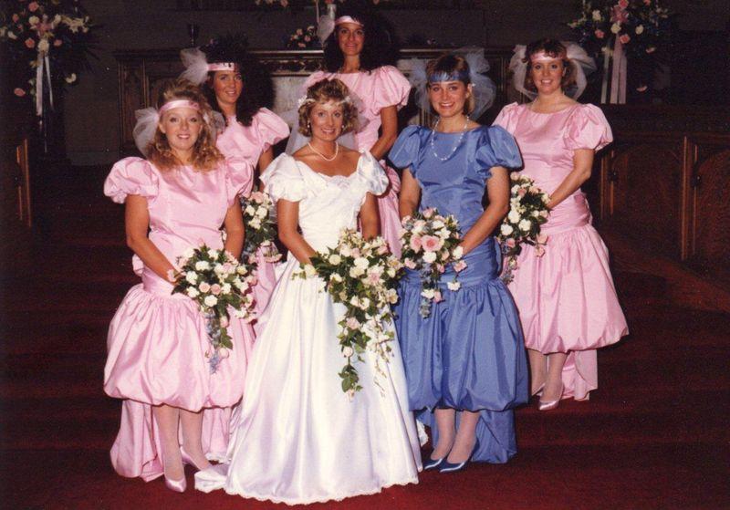 Classic 80's Wedding