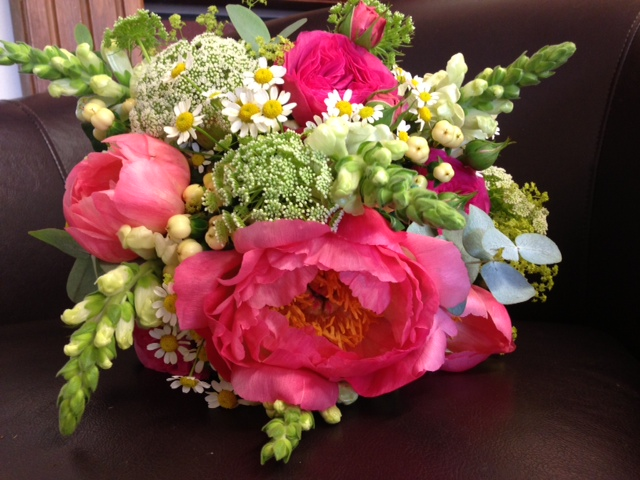Young Blooms wedding flowers
