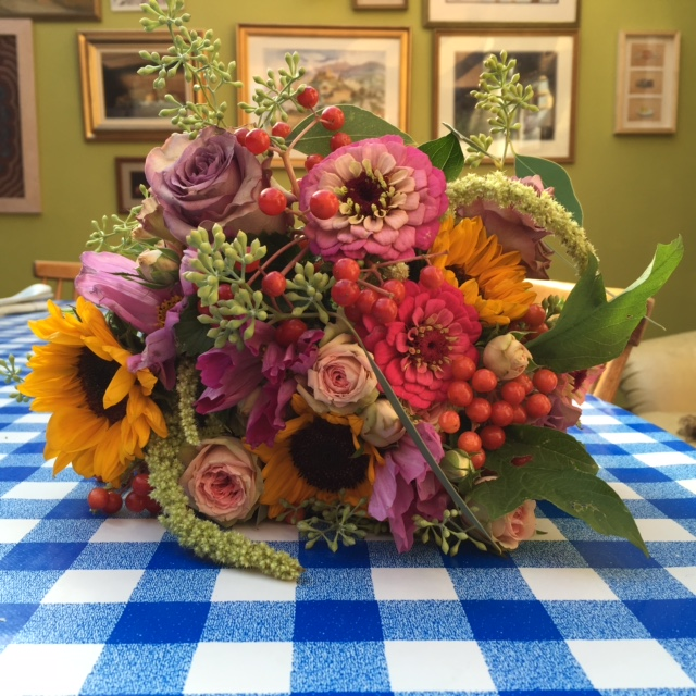 Young Blooms, wedding flowers